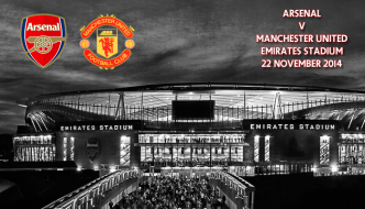 Arsenal v Manchester United, Premier League, Emirates, 22 November 2014