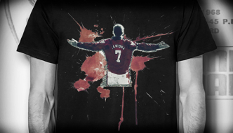 Competition: Win Cantona and Rooney Ts