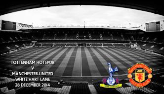 Tottenham Hotspur v Manchester United, White Hart Lane, Premier League, 28 December 2014