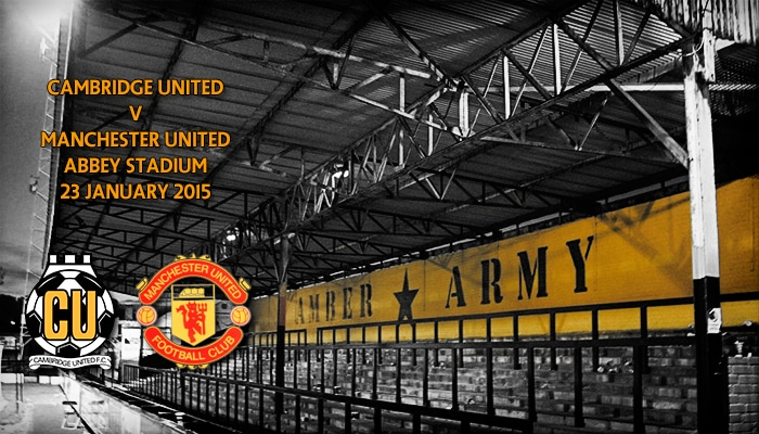 Cambridge United v Manchester United, FA Cup, Abbey Stadium