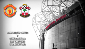Manchester United v Southampton, Premier League, Old Trafford, 4pm 11 January 2015