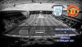 Preston North End v Manchester United, Deepdale, FA Cup, 16 February 2015