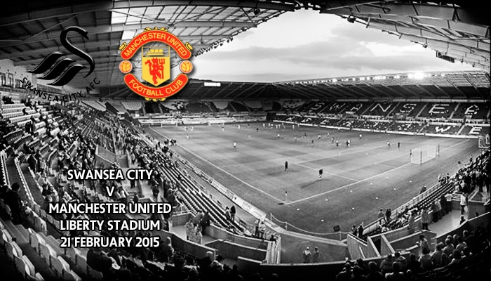 Swansea City v Manchester United, Liberty Stadium, Premier League, 3pm 21 February 2015