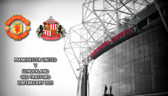 Manchester United v Sunderland, Old Trafford, Premier League, 28 February 2015