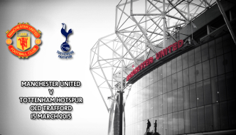 Manchester United v Tottenham Hotspur, Old Trafford, Premier League, 15 March 2015