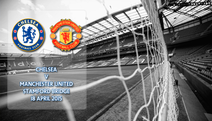 Chelsea v Manchester United, Premier League, Stamford Bridge, 18 April 2015