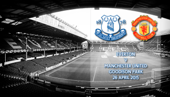 Everton v Manchester United, Goodison Park, Premier League , 26 April 2015