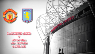 Manchester United v Aston Villa, Premier League, Old Trafford, 4 April 2015