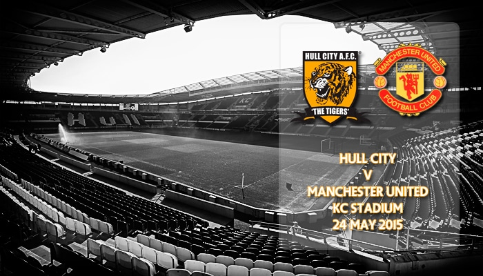 Hull City v Manchester United, KC Stadium, Premier League, 25 May 2015