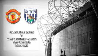 Manchester United v West Bromwich Albion, Premier League, Old Trafford, 2 May 2015