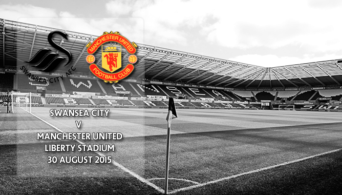 Swansea City v Manchester United, Premier League, Liberty Stadium, 30 August 2015
