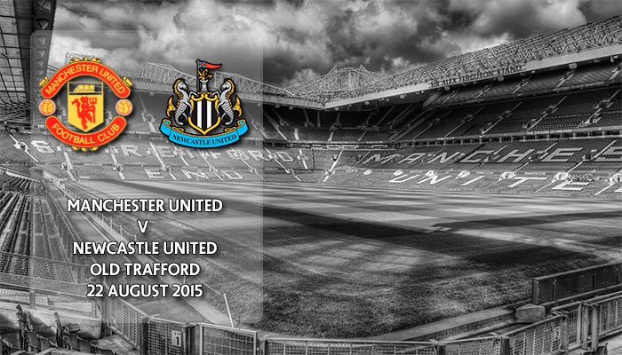 Manchester United v Newcastle United, Premier League, Old Trafford, 22 August 2015