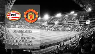 PSV Eindhoven v Manchester United, Phillips Stadion, Champions League, 15 September 2015