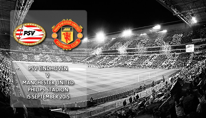 PSV Eindhoven v Manchester United, Phillips Stadion, Champions League, 15 September 2015