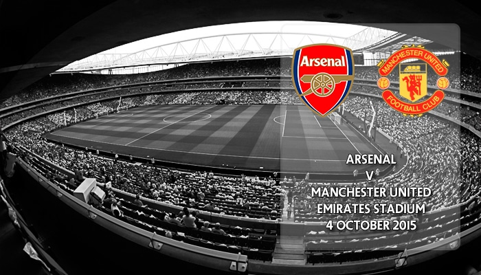 Arsenal v Manchester United, Premier League, Emirates Stadium, 4 October 2015