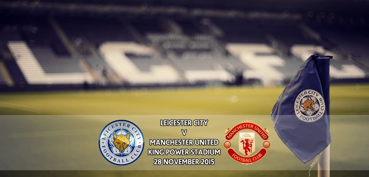 Leicester City v Manchester United, Premier League, King Power Stadium, 28 November 2015