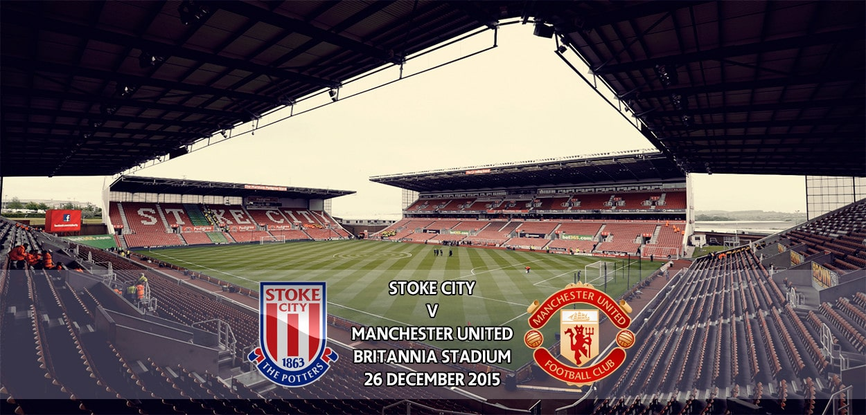 Stoke City v Manchester United, Britannia Stadium, Premier League, 26 December 2015