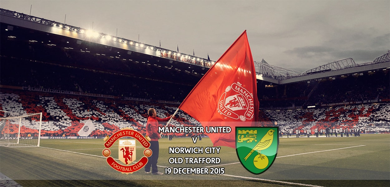 Manchester United v Norwich City, Premier League, Old Trafford, 19 December 2015