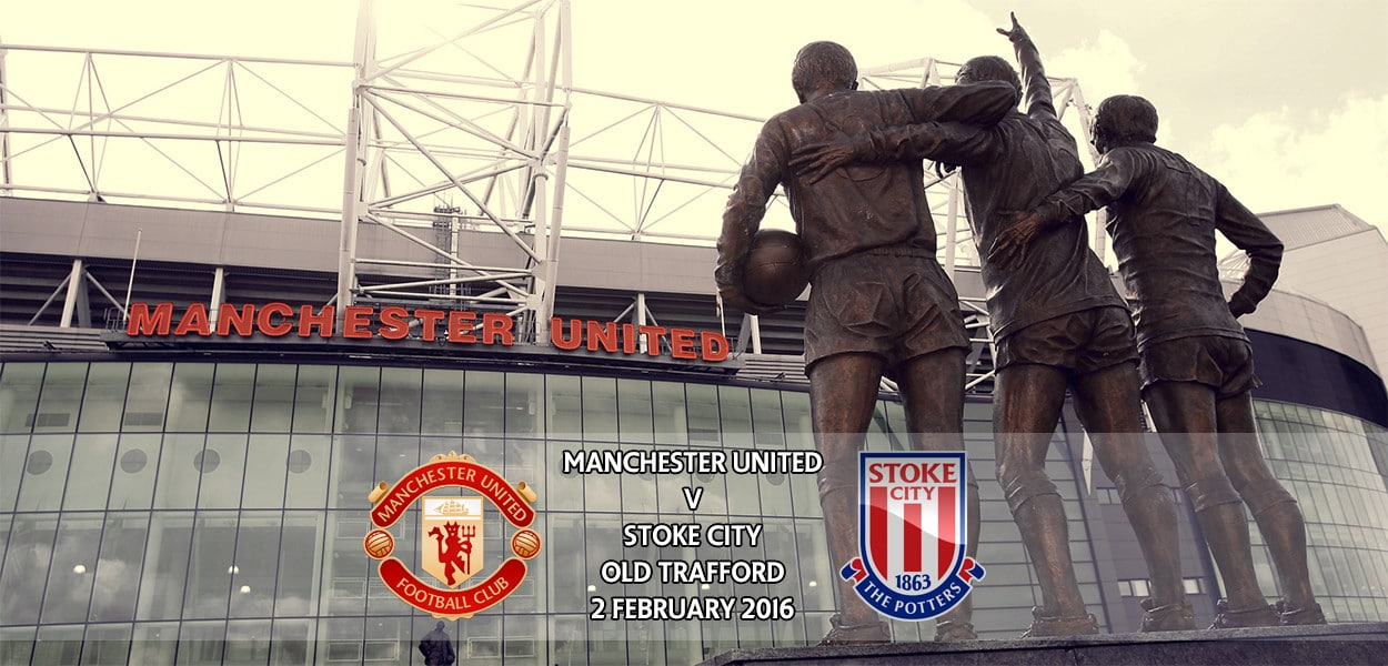 Manchester United v Stoke City, Premier League, Old Trafford, 2 February 2016