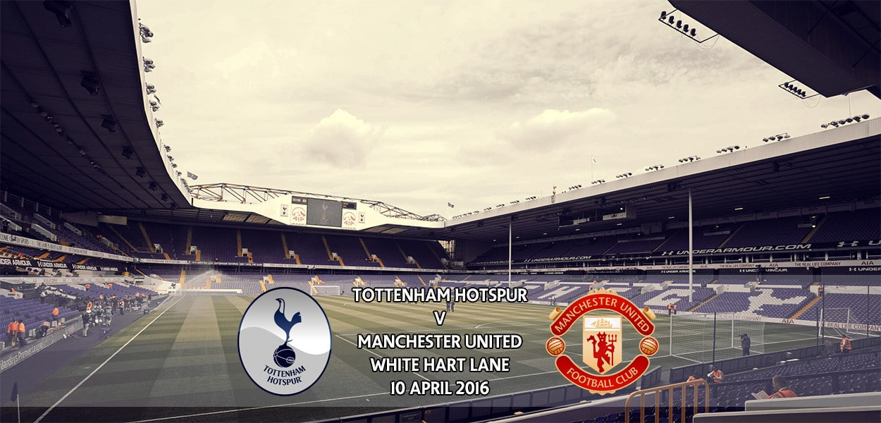Tottenham Hotspur v Manchester United, Premier League, White Hart Lane, 10 April 2016