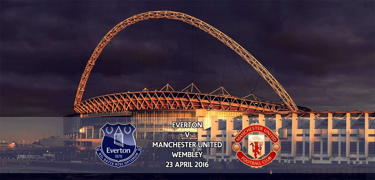 Everton v Manchester United, FA Cup, Wembley, 23 April 2016