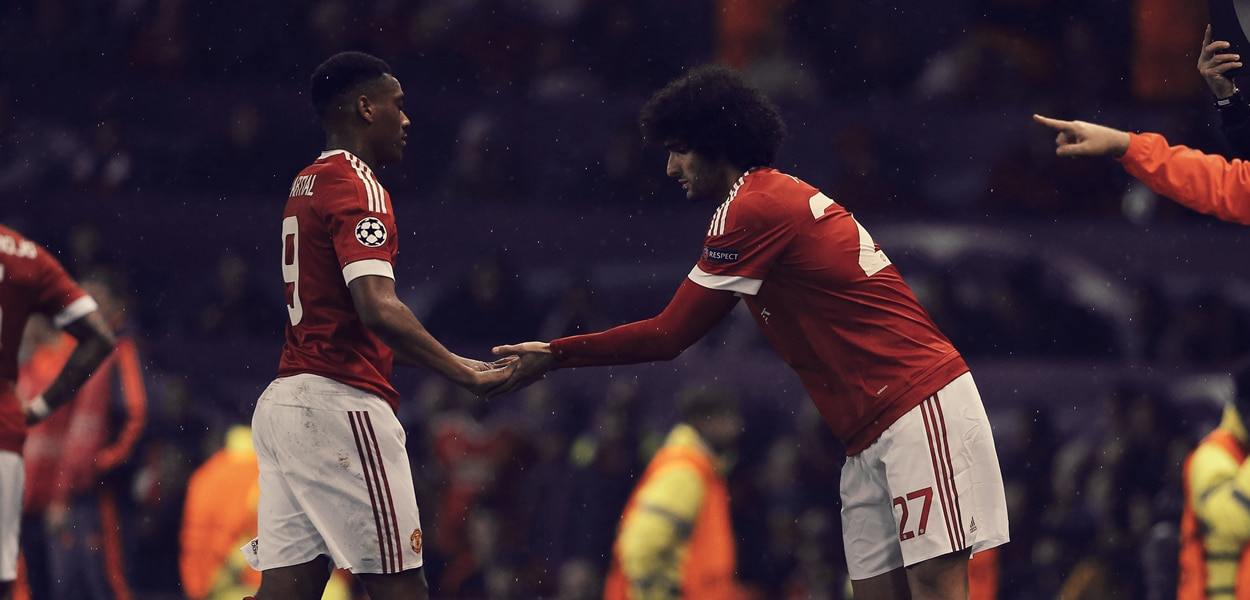 Anthony Martial, Marouane Fellaini