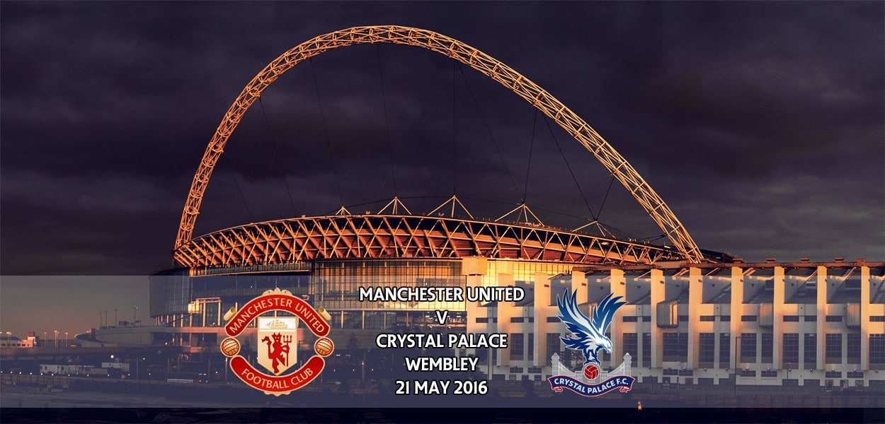 Manchester United v Crystal Palace, FA Cup Final, 21 May 2016