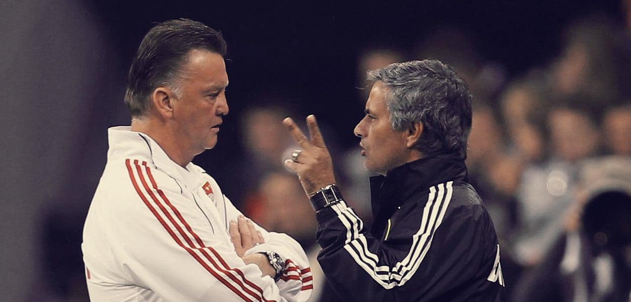 Louis van Gaal, Jose Mourinho
