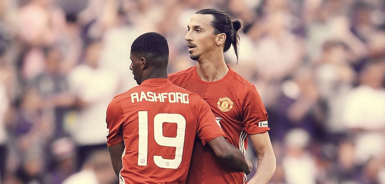 Marcus Rashford, Zlatan Ibrahimovic
