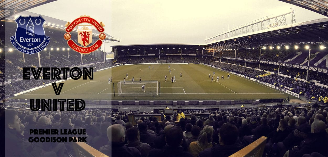 Everton v Manchester United, Premier League, Goodison Park, 4 December 2016