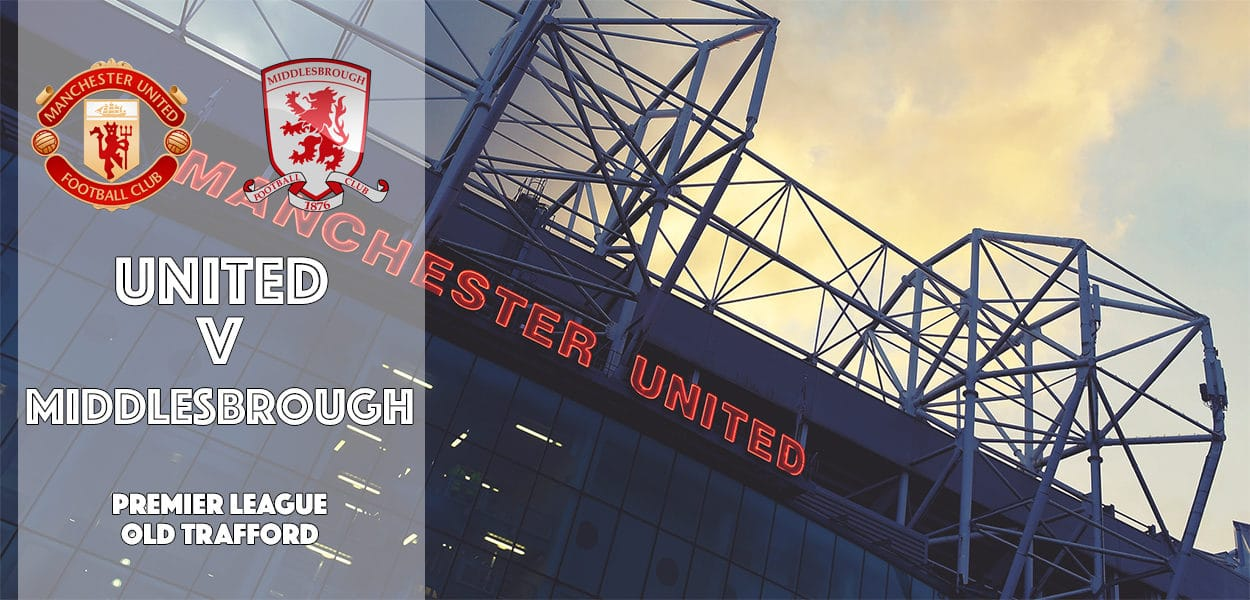 Manchester United v Middlesbrough, Premier League, Old Trafford, 31 December 2016