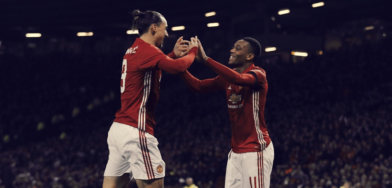 Zlatan Ibrahimovic, Anthony Martial