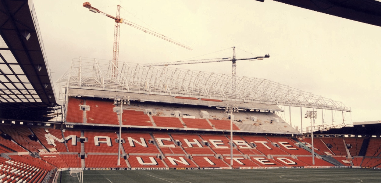Old Trafford, North Stand