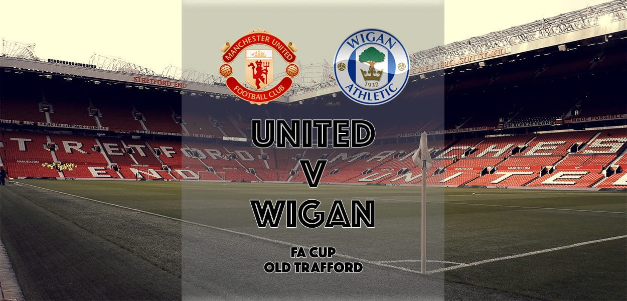 Manchester United v Wigan Athletic, FA Cup, Old Trafford, 29 January 2017