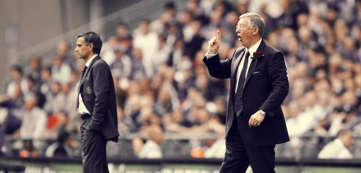 Sir Alex Ferguson, Jose Mourinho
