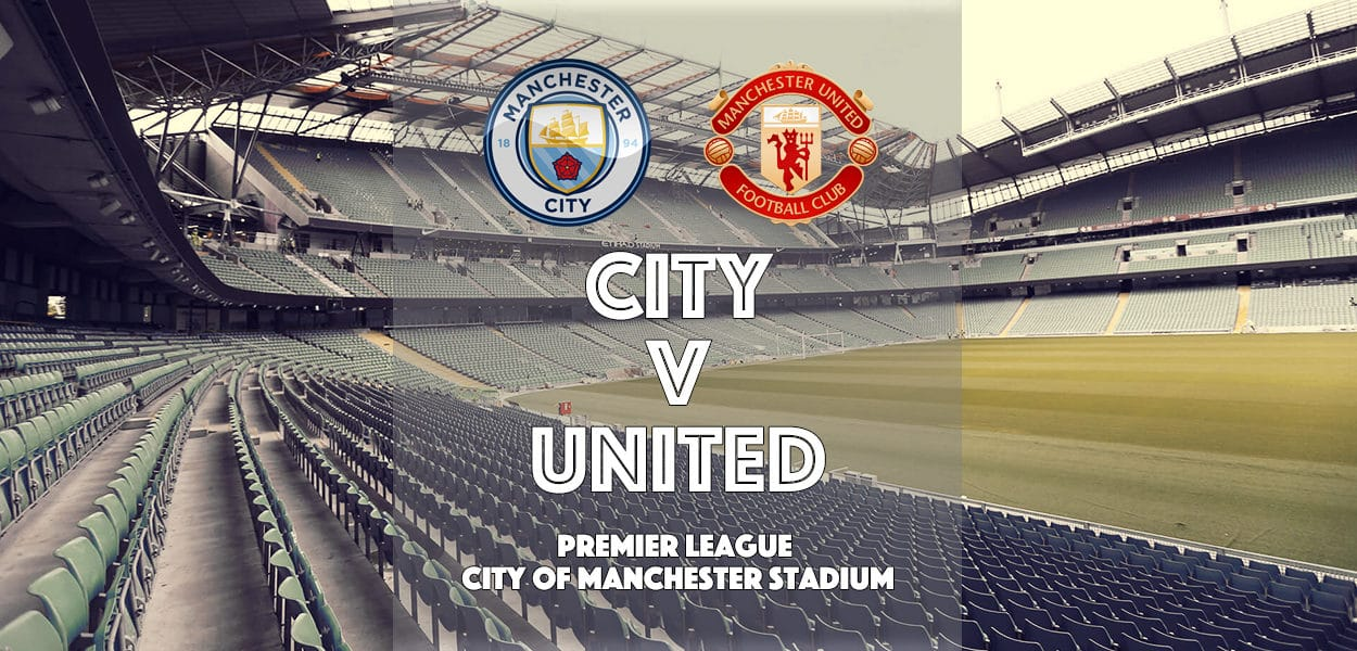 Manchester City v Manchester United, Etihad Stadium, Premier League, 27 April 2017