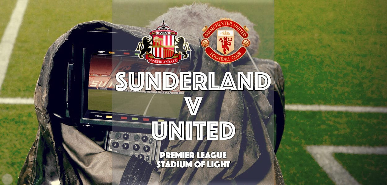 Sunderland v Manchester United, Premier League, Stadium of Light, 9 April 2017