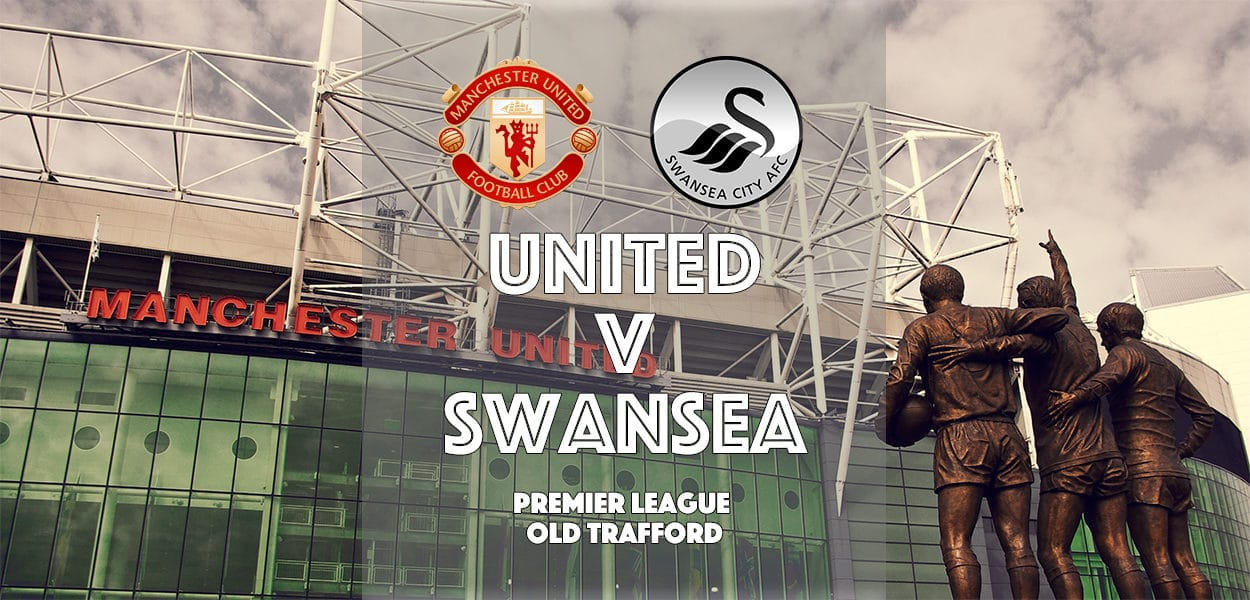Manchester United v Swansea City, Premier League, Old Trafford, 30 April 2017