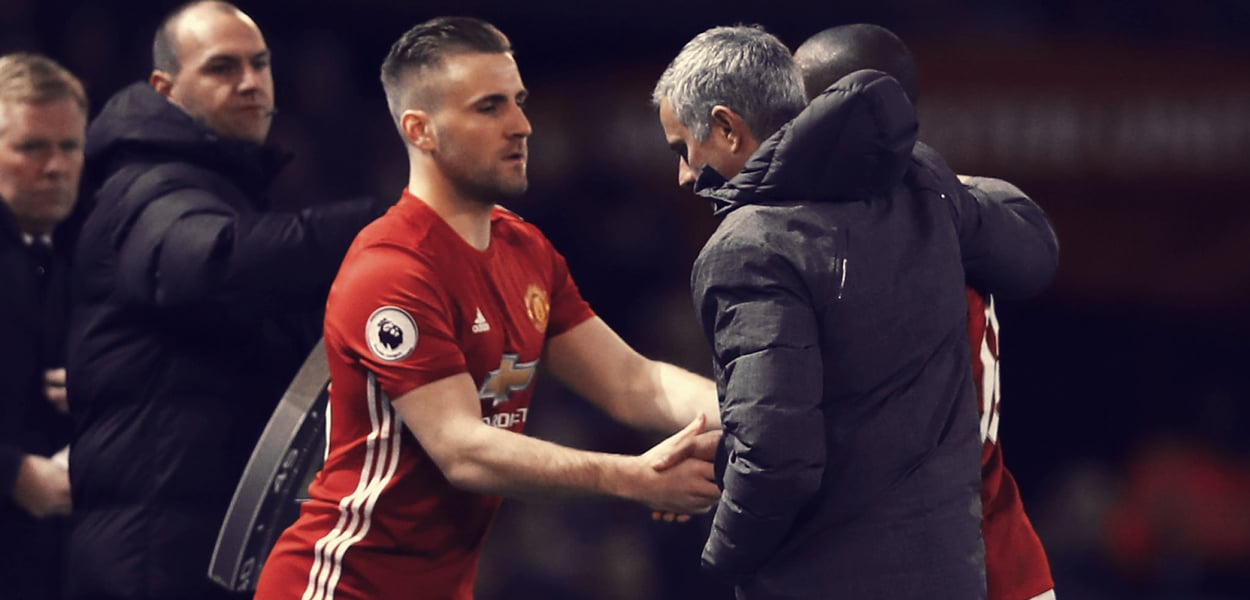 Luke Shaw, Jose Mourinho
