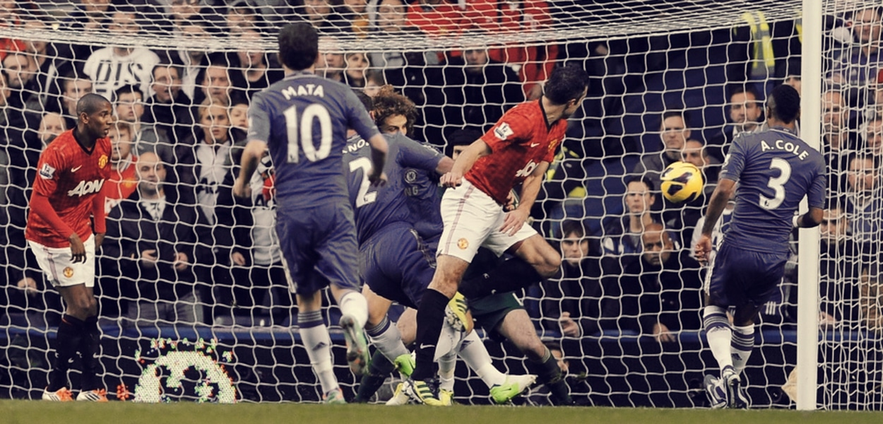 Chelsea 2-3 Manchester United, 2012
