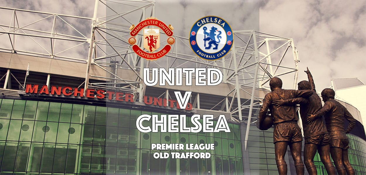 Chelsea v Manchester United, Stamford Bridge, Premier League, 16 April 2017