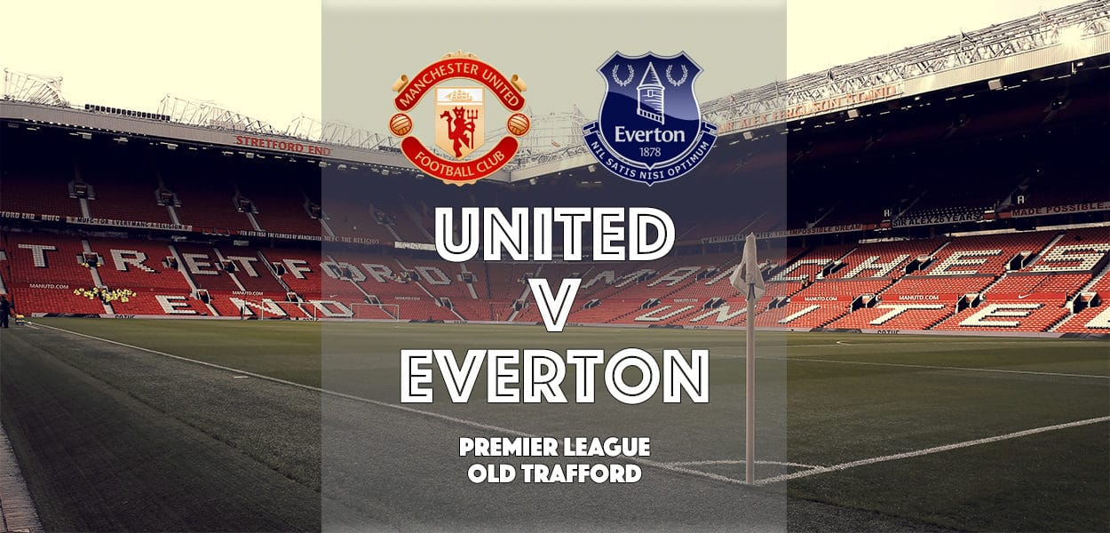 Manchester United v Everton, Premier League, Old Trafford, 4 April 2017