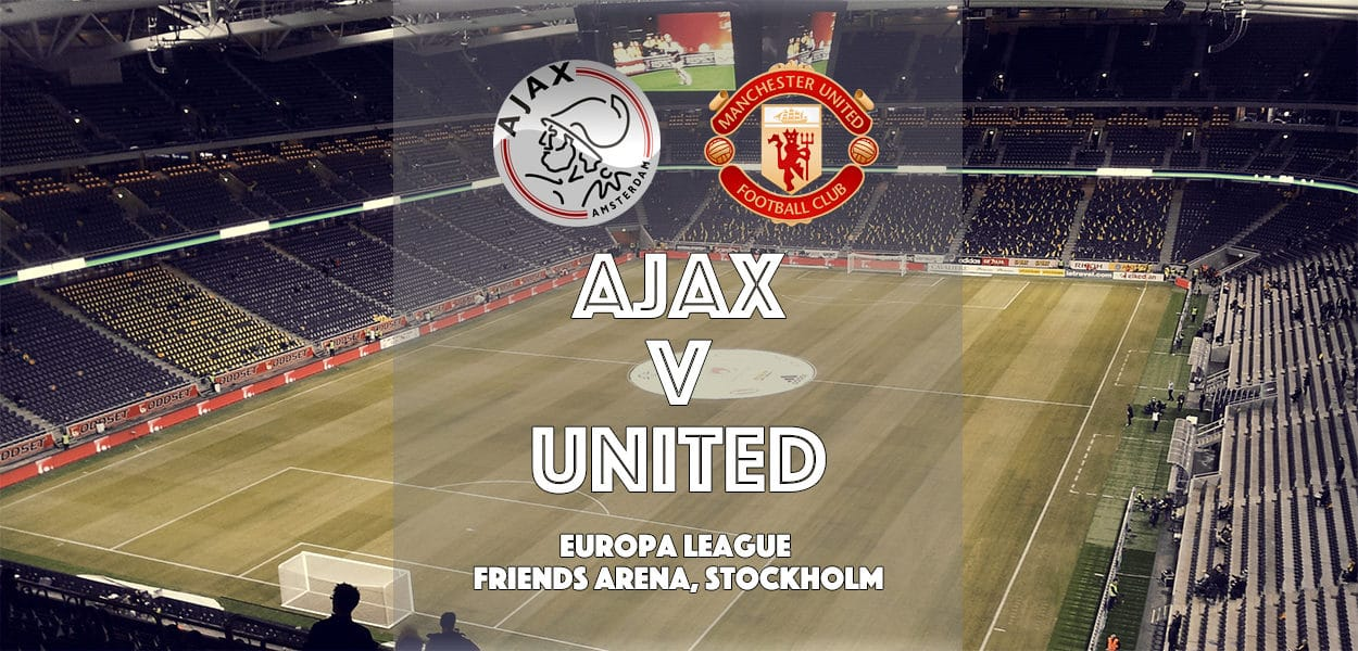 Ajax v Manchester United, Europa League final, Stockholm, 24 May 2017