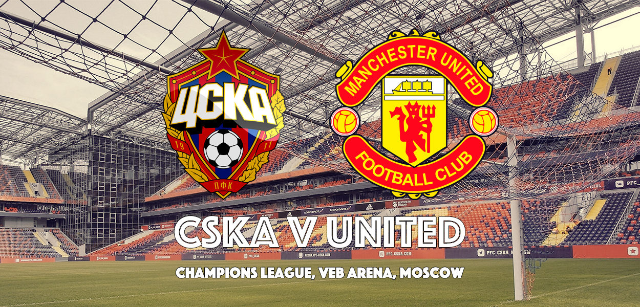 CSKA Moscow v Manchester United, VEB Arena, Champions League, 27 September 2017