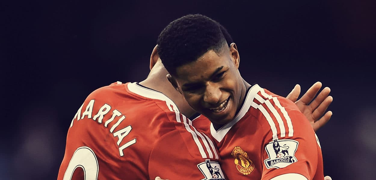 Anthony Martial, Marcus Rashford