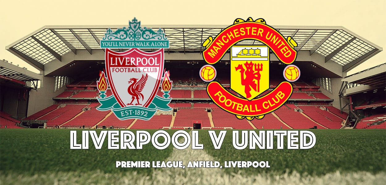 Liverpool v Manchester United, Anfield, Premier League, 14 October 2017